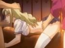 【エロアニメ】 家族を守るためにアナルまで犯される金髪美少女