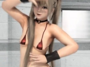 【3Dエロアニメ】 クオリティ高すぎるDOAマリーローズのエロダンス