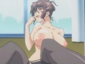 【エロアニメ】 生徒相手に援交して罵られながらイラマチオされる保健室の先生