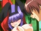 【エロアニメ】 縄抜けマジックの練習と称してバニーガール縛り付けてそのまま中出ししたり他の娘も交えて3pしたり
