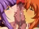 【エロアニメ】 素直になれないツンデレサキュバスに媚薬飲ませて角っ娘と一緒にダブルフェラさせる