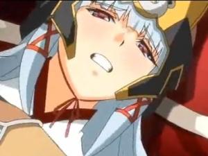 【エロアニメ】 女騎士の処女強奪して孕ませるつもり満々の中出し3pセックス
