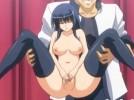 【エロアニメ】 全校生徒の前でオマンコクパァさせられて処女喪失セックス強要される黒髪生徒会長