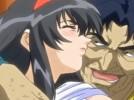 【エロアニメ】 脅されて昏睡中の父親の前で前戯なしでオッサンに犯される美少女