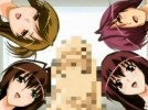 【エロアニメ】 強力な精力増強剤を飲んでしまい4人のお姉さんたちに精液絞り出してもらうことにw