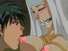 【エロアニメ】 悪魔召喚の生贄としてボールギャグ噛まされて拘束されてエロいことされるシスター