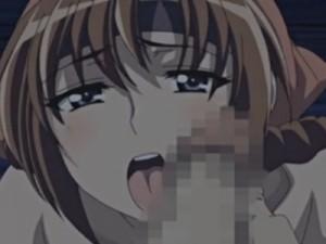 【エロアニメ】 任務に失敗した罰にお兄ちゃんとお父さんに犯され中出しされるくノ一美少女