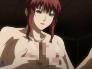 【エロアニメ】 巨乳美女が突然温泉に入ってきてパイズリして中出しセックスさせてくれるw