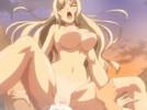 【エロアニメ】 顔面騎乗位でセックスおねだりしてくる美女と温泉セックス