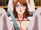 【エロアニメ】 緊縛されて下着をメスで切られて恐怖でおしっこ漏らしてクスコでオマンコの中見られちゃう美人メガネ女医