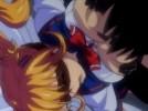 【エロアニメ】 変態キモオタストーカーに脅され命令に従ってラブホ入ったらいきなり目隠しされて襲われるツインテール制服美少女