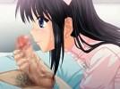 【エロアニメ】 美少女ナースとセックス直後に精液と愛液塗れのチンポにご奉仕お掃除フェラしてもらってディープスロートイラマチオ