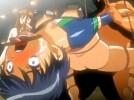 【エロアニメ】 緊縛拷問でおしっこお漏らしさせられ処女膜ぶち破り中出しレイプされるレオタード美少女