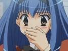 【エロアニメ】 青髪ロング美少女とシャワー浴びてフェラしてもらいクンニしてセックス