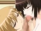 【エロアニメ】 変態マゾアイドルと彼女のレズアナルセックス見て勃起したチンポダブルフェラしてもらってぶっかけ顔射