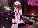 【3Dエロアニメ】 リモコンバイブ付けたままライブさせられライブ直後に舞台裏で立ちバックでチンポハメられる美少女アイドル