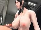 【3Dエロアニメ】 お姉さんの口マンコにイラマチオ口内射精し巨乳おっぱいで乳首ズリしてもらいおっぱいぶっかけ
