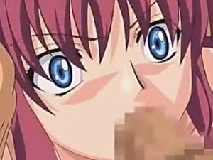【エロアニメ】 初フェラでイラマチオされ苦い精液飲まされてだいしゅきホールド処女セックスする美少女
