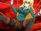 【エロアニメ】 触手にマンコもアナルも乳首もおヘソも犯されるボテ腹黒髪美少女と触手に襲われオシッコ漏らしちゃう金髪縦ロールお嬢様