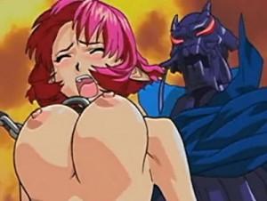 【エロアニメ】 バケモノの性奴隷にされて異種姦中出しレイプされまくる美少女