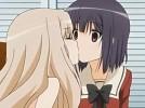 【エロアニメ】 クールな黒髪美少女とちっぱい美少女のイチャイチャ百合レズセックス