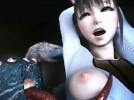 【3Dエロアニメ】 巨大化物蜘蛛にアナルとオマンコ犯され中出し種付けされる美少女
