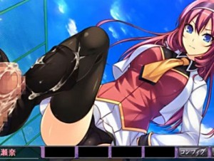 【エロアニメ】 ドS美少女に罵られながらオナニーさせられ黒ニーソ足コキでイカされちゃう