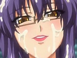 【エロアニメ】 おっぱい視姦されてたらエロい気分になった白衣巨乳教授が教え子大学生押し倒して生セックス