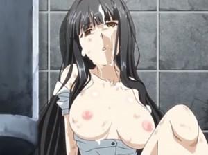 【エロアニメ】 男子トイレに監禁されシャワーも浴びれず着替えもできず犯され続ける女教師