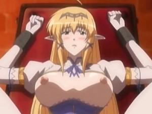 【エロアニメ】 監禁拘束焦らしプレイで快楽堕ちして汚い人間チンポおねだりして処女マンコで受け入れるエルフのお姫様