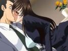 【エロアニメ】 ついさっきまで他人が不倫セックス楽しんでた場所のエッチな臭いで発情した女社長に誘惑されて中出しセックス