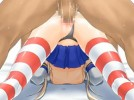【エロアニメ】 バックから犯されオマンコ中出しされる艦これ島風