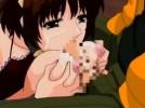 【エロアニメ】 メイドリフレで憧れの美少女指名してパイズリに本番セックスのエッチなサービスしてもらうw