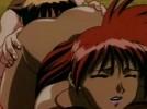 【エロアニメ】 拘束されたお姫様をSM女王様プレイで責めたり美女にクンニや手マンされて責められる褐色レズ女