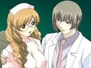 【エロアニメ】 メガネっ娘ナースを言葉巧みにたぶらかして両手縛り上げ痴漢するイケメン医師