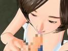 【3Dエロアニメ】 赤ちゃん言葉言いながら愛撫してくるキモいオッサンにフェラ仕込まれ処女奪われる少女