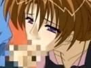 【エロアニメ】 若い男相手に勇気付けるためとエッチな誘惑して若者チンポをオマンコで咥え込んじゃう美人人妻