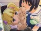 【エロアニメ】 処女なのにヤリマン友達と一緒に援交して写真撮られながら初フェラしちゃうクール系美少女