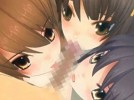 【3Dエロアニメ】 涼宮ハルヒ、長門有希、朝比奈みくるにトリプルフェラチオしてもらって3人同時にイカせる4Pハーレムセックス