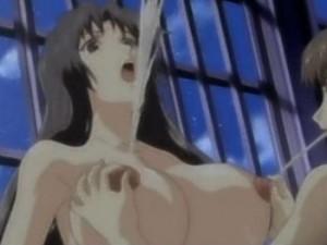 【エロアニメ】 友達の前でふたなりチンポシゴかれながらオマンコにチンポ挿れられちゃうふたなり美少女&巨乳おっぱい乳首責めされて母乳噴射イキしちゃう美人先生