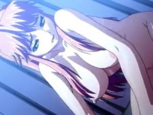 【エロアニメ】 正常位&騎乗位セックスで中出しされてイッちゃう美少女
