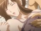 【エロアニメ】 母乳噴き出ちゃう爆乳妻にだいしゅきホールドされながらの中出し子作りセックス