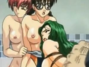 【エロアニメ】 友達の目の前で鬼畜男にハメ撮りレイプされちゃうお嬢様
