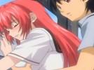【エロアニメ】 お姉ちゃんにいつもこき使われている弟が仕返しの電車内痴漢プレイでおっぱい揉んだら反撃してこなくてお姉ちゃんおっぱい揉み放題w