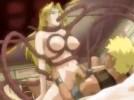【エロアニメ】 触手に全身愛撫されながら息子チンポで犯されて母乳噴射イキしちゃう金髪王妃様