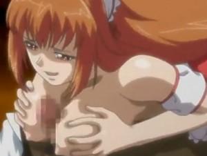 【エロアニメ】 ヤンデレ美少女幼馴染に迫られてパイズリ&中出し処女セックス