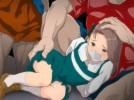 【エロアニメ】 生意気少女の嘘で逮捕されかけた仕返しに少女を拉致って監禁種付け輪姦レイプ