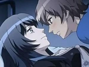 【エロアニメ】 くっついて離れないお姉ちゃんに我慢できなくなった弟がお姉ちゃんを押し倒してラブラブ姉弟セックス