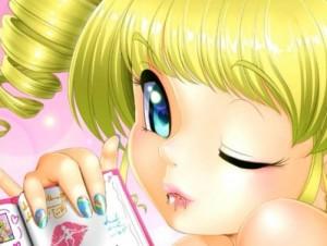 【エロアニメ】 金髪縦ロール巨大娘にキス責めされて倒されちゃうw