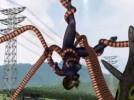 【3Dエロアニメ】 巨大怪獣の操る触手でオマンコとアナル犯される巨大変身ヒロイン